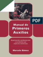 Manual de Primeros Auxilios, Reanimación Cardiovascular y Accid