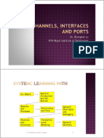 Channels and Interfaces in SystemC