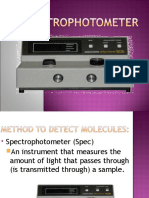 Spectrophotometer 2010 Ag Revision