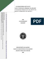 Analisis Kinerja Keuangan PT. Bank Rakya