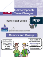Unit 5 Grammar Compulsory Reference Material - Indirect Speech