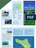 Flyer Hallig Hooge