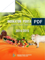 Indikator Pertanian 2014 2015 Rev