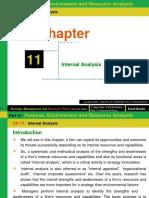 Ch- 11 (Internal Analysis)