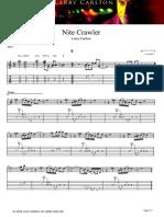 Larry Carlton - Nitecrawler