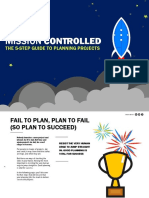 Mission Controlled The 5 Step Guide to Planning Projects