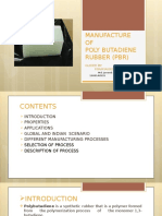 Polybutadiene rubber Project Review
