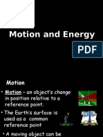 Motion and Energy (Notes)