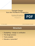 Daylight Design From the Architects Perspective