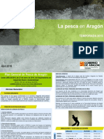 Aragon - Pesca 2016 -Folleto Informativo