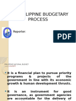 Budgeting Process Report