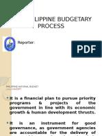 Budgeting Process Report