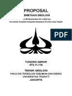 233169498 Proposal Pemetaan Geologi