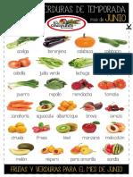 Verduras Junio