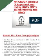 SHRI RAM GROUP JABALPUR