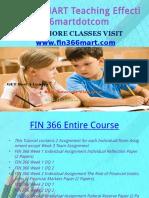 FIN 366 MARTTeaching Effectively Fin366martdotcom