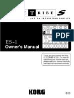 ES1 Manual