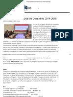 ABC Del Plan Nacional de Desarrollo 2014-2018 _ El Nuevo Siglo Bogota--revisar Montos