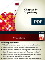 Chapter 9– Organising