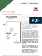 MeasurIT Red Valve Pressure Sensors Series 40 Application 0808