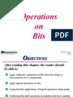 operations on bits