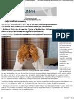 2 Biblical Ways to Break the Cycle of Addiction — Charisma Magazine
