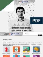 Loopaa Prezentare Campanie Marketing 2014