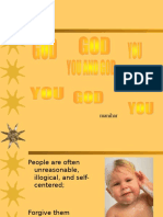 You and God -Cliff Plana