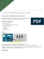 Arduino - Datalogger