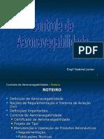Con+Aeronv+LIDER - Aeronavegabilidade Cont..ppt