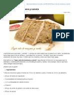 Layer Cake de Manzana y Canela » Recetas Thermomix _ MisThermorecetas