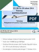Implikasi UU RI No 38 Tahun 2014