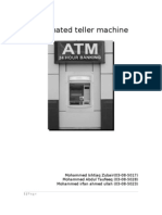 ATM casestudy