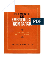 Embriologie comparata