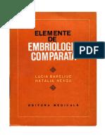 Embriologie comparata