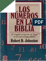 Los Nuemros en La Biblia