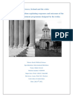 Greece, Ireland and the Crisis-Master Scriptie