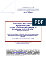 1. Alejandro Gutierrez - Cadenas en La Ensenanza