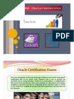 1Z0-051 - Oracle Certification Prep