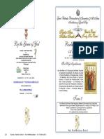 2016 15 May Paschal Vespers 3 Pascha Holy Myrrhbearers