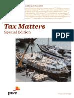 Tax Matters June 2014