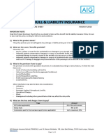Aircraft Hull Liability Pds