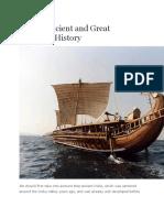 India Maritime History