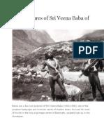 Rare Pictures of Sri Veena Baba of Badrinath