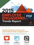2015 Employee Engagement Trends Report DATA ANALYSIS