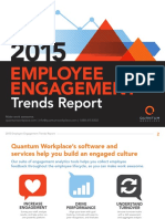 2015 Employee Engagement Trends Report DATA ANALYSIS