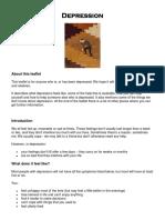 Depression RCP Leaflet