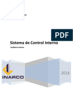 Sistema Control Interno Empresas Inarco