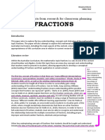 standard 2 - fractions literature review