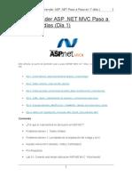ASP .NET MVC 4 Paso a Paso en 6 días